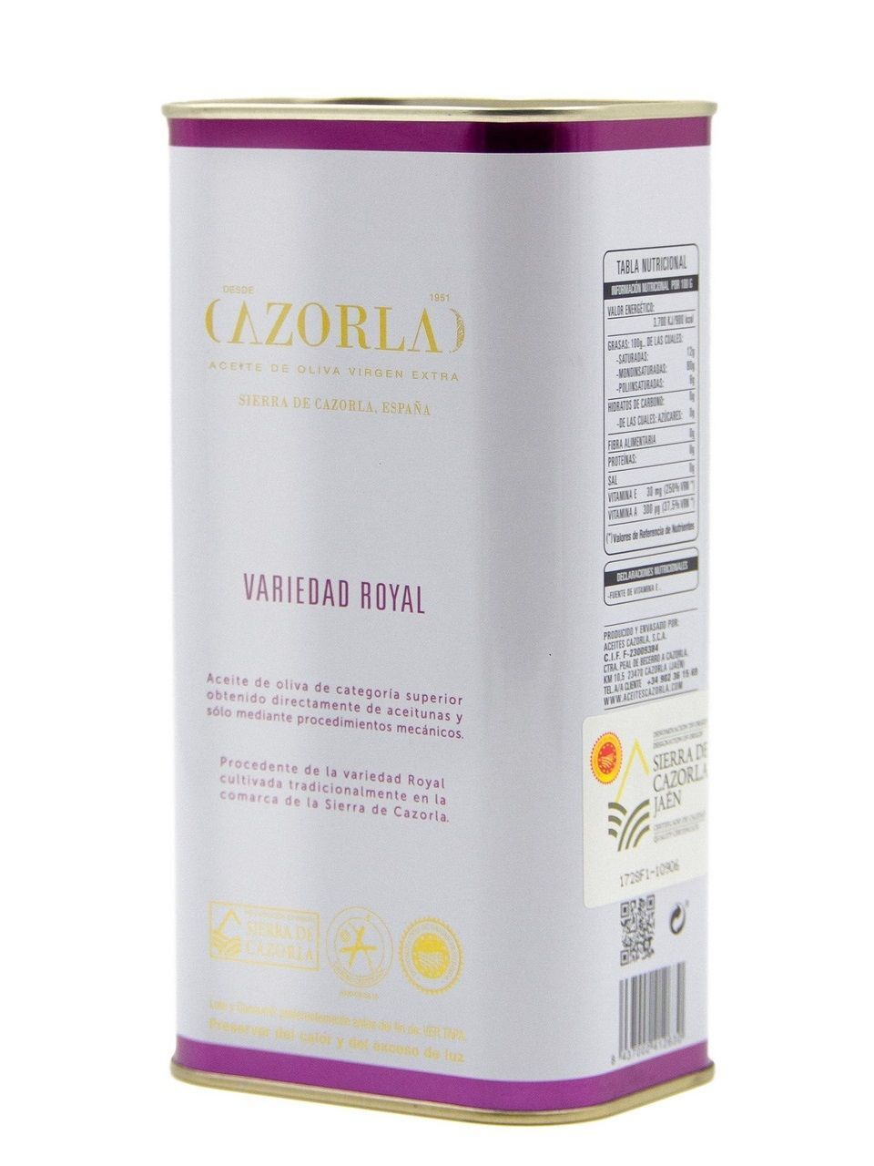 "Масло ""CAZORLA"" Royal VARIETY  1л"